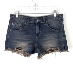 Free People Distressed Shorts - 25